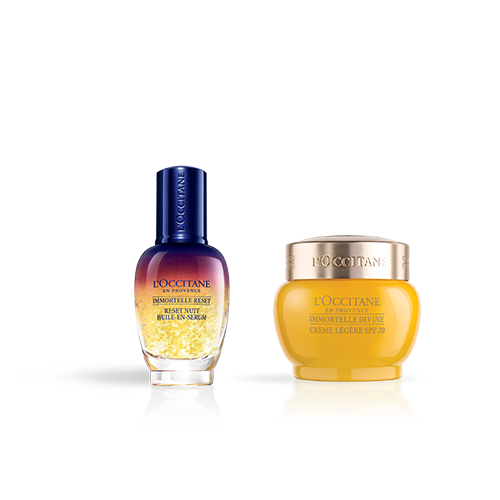 Advanced Anti-Ageing Face Cream SPF & Reset Duo