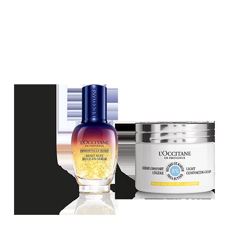 Moisturizing Face Cream SPF & Reset Duo