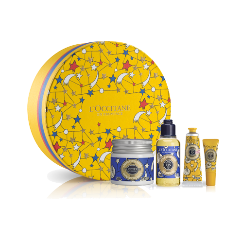 Xmas Shea Yellow Set