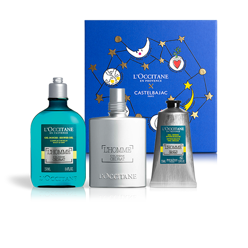 ENERGIZING PERFUME FOR HIM - L'HOMME COLOGNE CÉDRAT SET