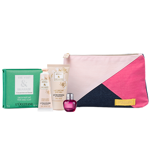 Neroli Orchidee Kit in Pouch