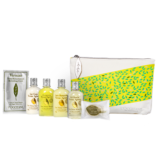 Citrus Verbena Kit in Pouch
