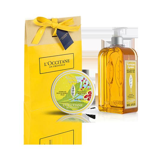 Citrus Verbena Refreshing Shower Set