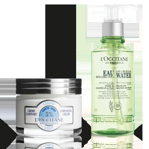 Shea Light Comforting Cream&Infusions 3 in 1 Micellar Water