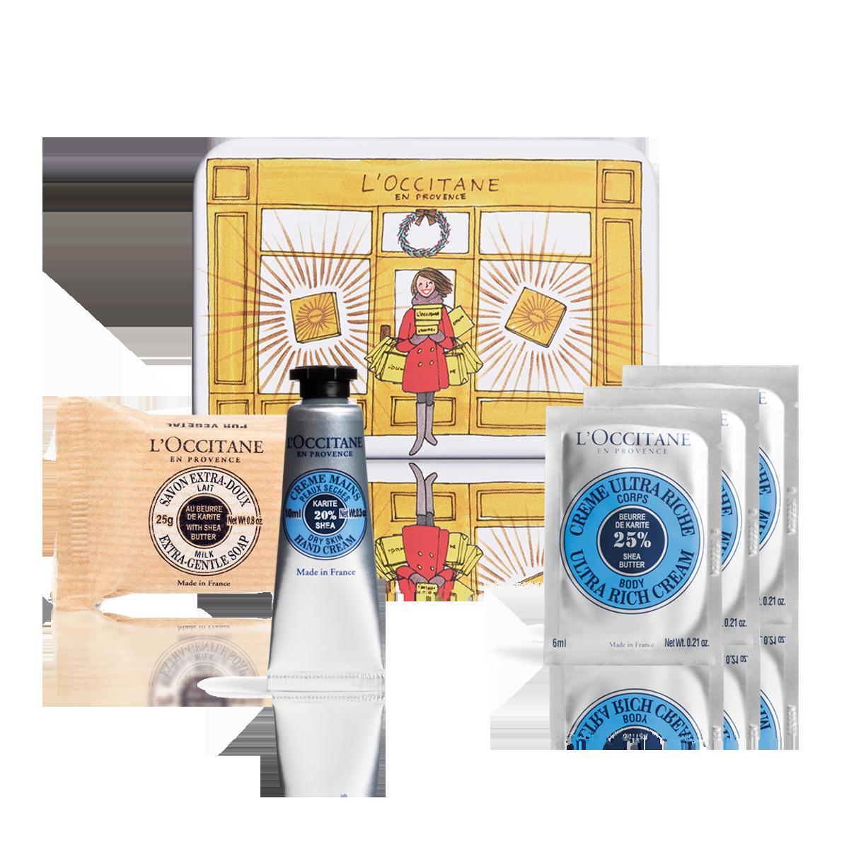 Mini Kit Esenciales de Karité