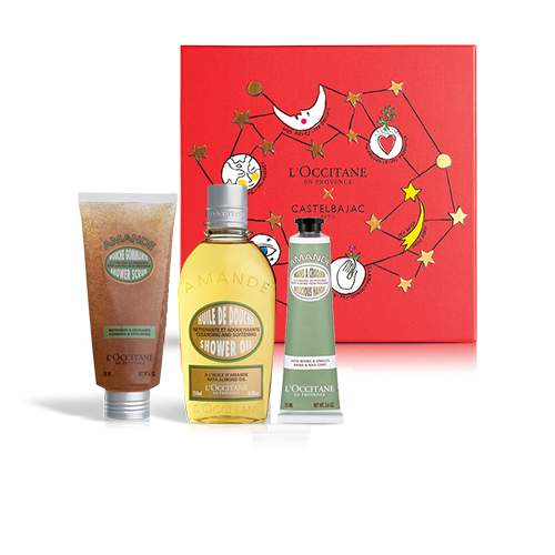 SMOOTHING BODY CARE SET CLASSIC | GIFT SET WITH ALMOND