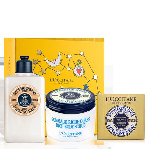 Šventinis taukmedžių vonios rinkinys | L'OCCITANE