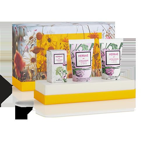Herbae L'Eau mini perfume set