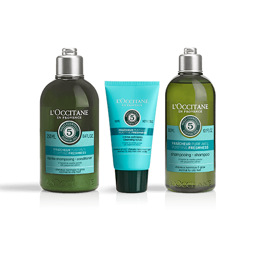 Aromochologie Purifying haircare set