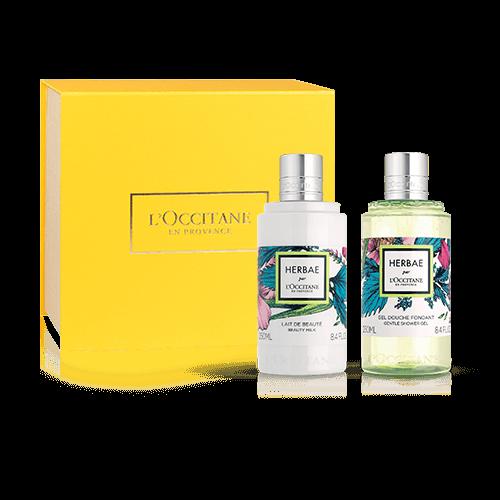 Green & fresh Herbae par L'OCCITANE set