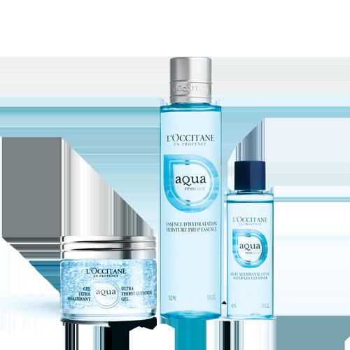 Aqua Réotier Hydration Set (Bubble Gel)