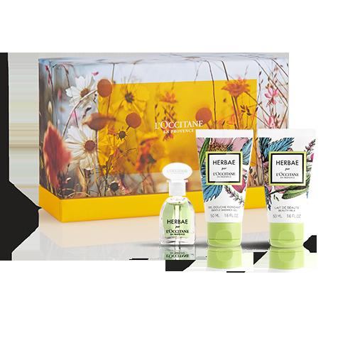 Herbae mini perfume set