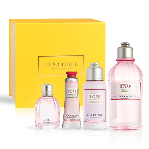 GIFT SET ROSE FRAGRANT CARE