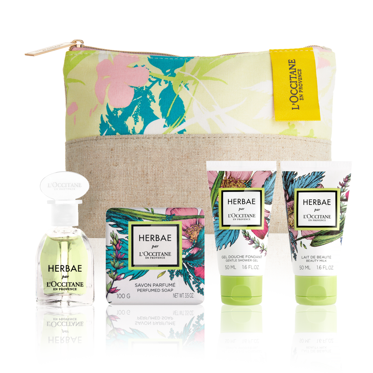 SET DE REGALO HERBAE PAR L´OCCITANE