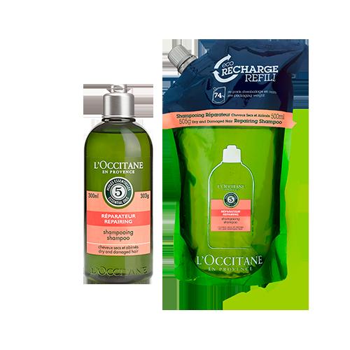 Rotina Shampoo Reparador Aromacologia + Eco-Refil