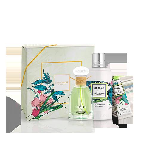 Presente Hidratação e Fragrância Herbae Par L'Occitane