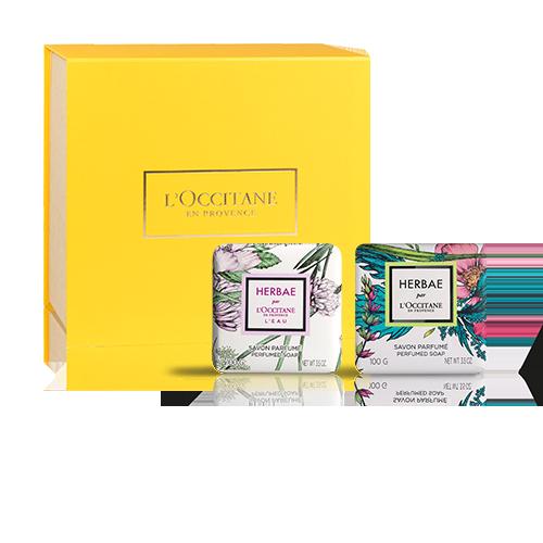 Herbae soap set