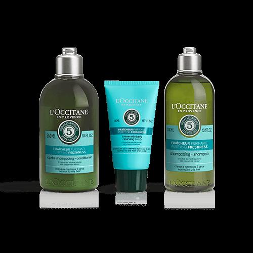 Zestaw do pielęgnacji włosów Oczyszczająca Aromakologia