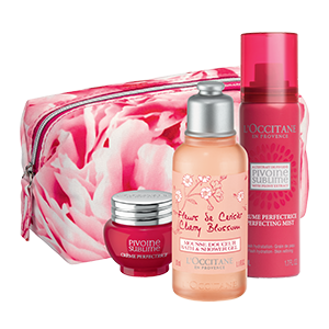 Travel set Perfect Peony