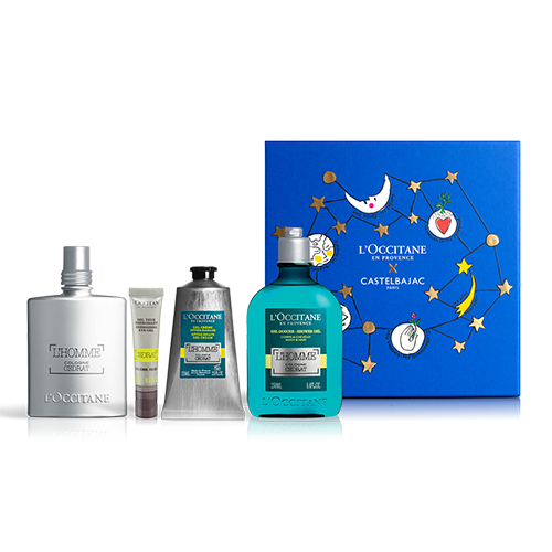 FRESH & AQUATIC L'HOMME COLOGNE CÉDRAT PERFUME SET