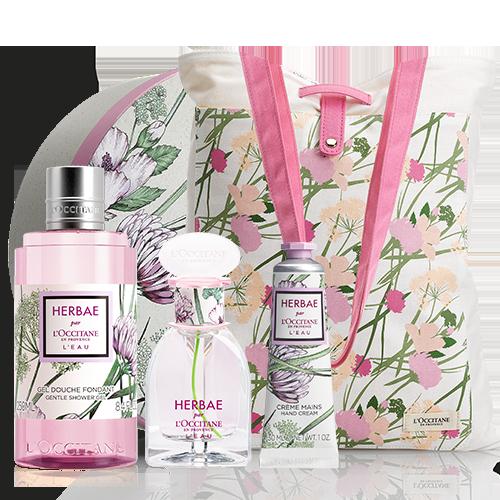 """Herbae L'Eau"" gift set"