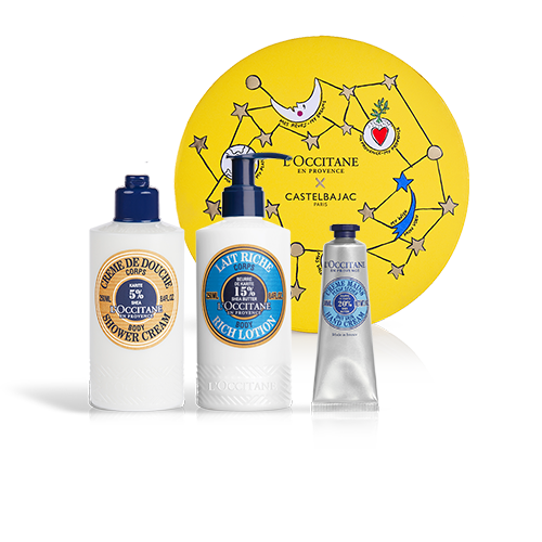 INTENSIVELY NOURISHING BODY CARE - SHEA BUTTER TRIO
