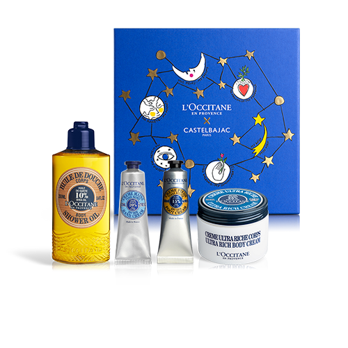NOURISHING BODY CARE SET PREMIUM | GIFT SET WITH SHEA BUTTER