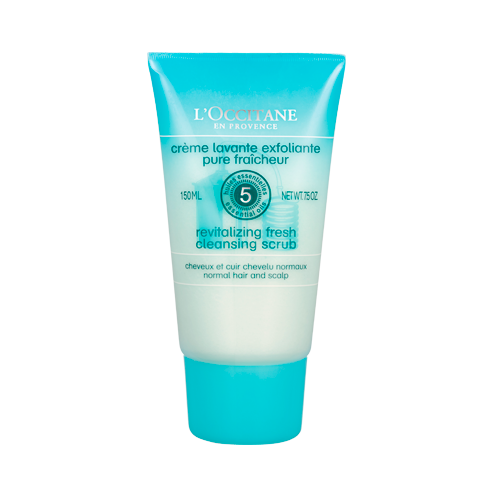 L'Occitane Aromachologie Revitalizing Fresh Cleansing Scalp & Hair Scrub - Rambut