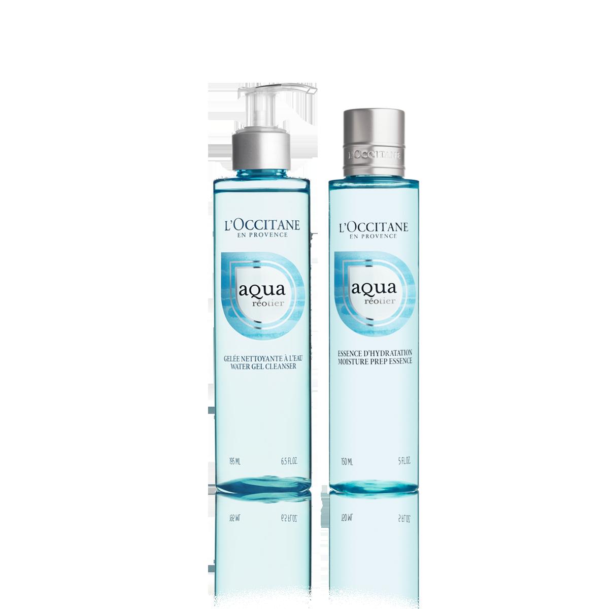 Dúo de Limpieza Facial Aqua Réotier