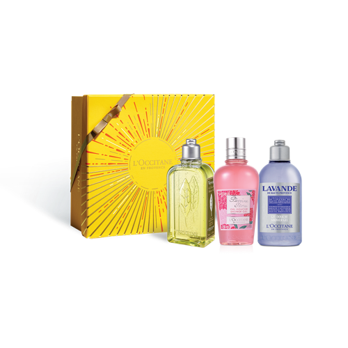Floral Shower Gel Trio (C4)