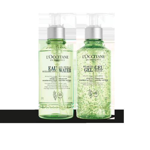 清新潔膚組|卸妝清潔|臉部保養| L'OCCITANE 歐舒丹