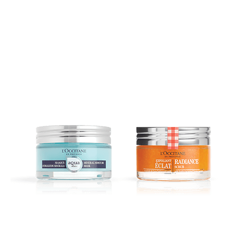 SCRUB & MASK DUO - BRIGHTENING & HYDRATING