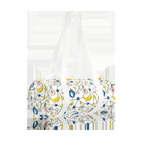 Šventinis baltas krepšys