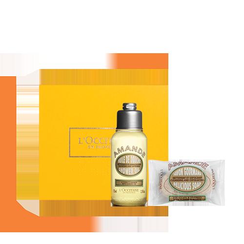 Almond Great Shower Set