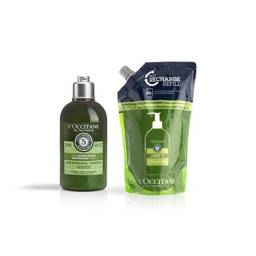 Aromachology Nourishing Conditioner Refill Duo - Aromakoloji Besleyici Saç Kremi Ekonomik Yedek İkilisi