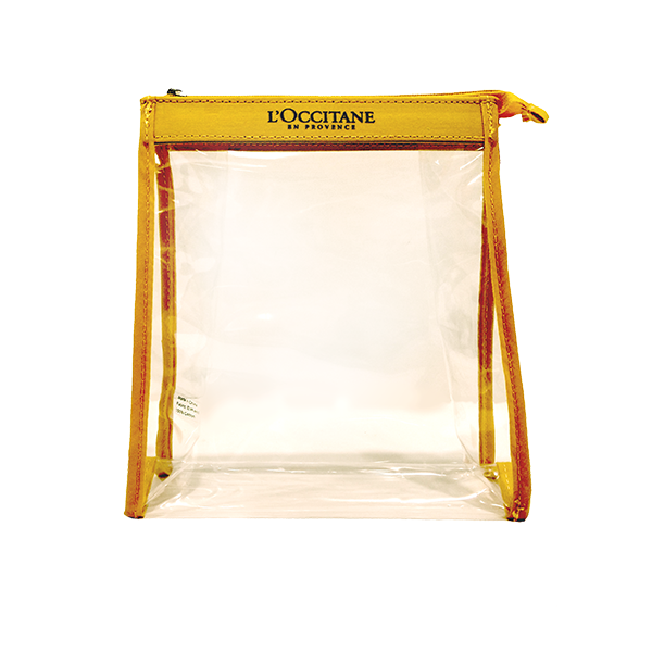 TRAVEL RETAIL YELLOW POUCH