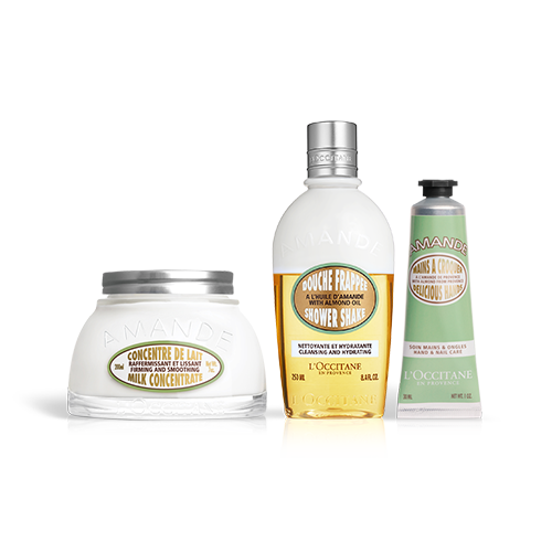 ALMOND SHOWER SHAKE SET