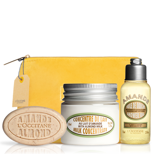 Almond Travel Kit