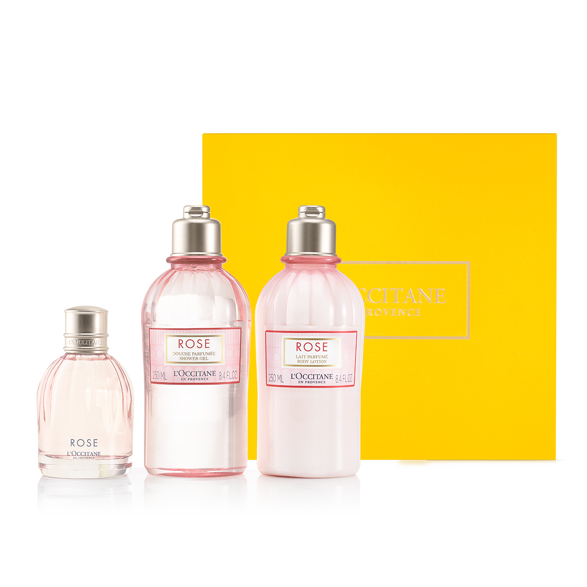 Rose Fragrance Collection - Gül Parfüm Seti