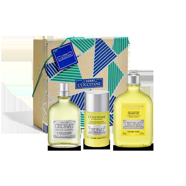 Cedrat Parfüm ve Vücut Bakımı Seti