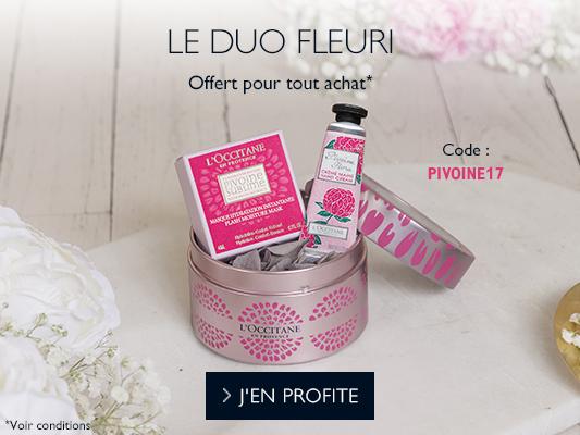 Duo Fleuri Pivoine