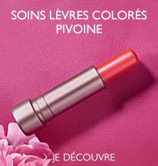 Baumes lèvres Pivoine