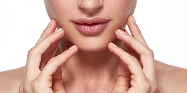 額・口元・鼻の塗り方
