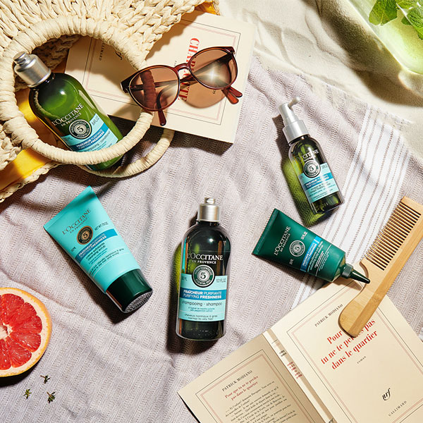 Purifying Hair Care Collection