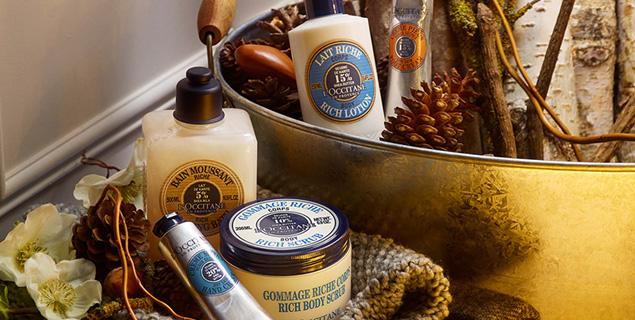Estos productos de L'OCCITANE aprovechan las propiedades de la manteca de Karité