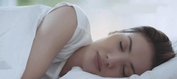 A restful night sleep