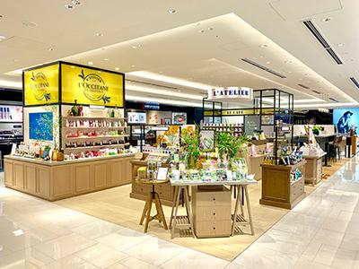 ロクシタン GINZA SIX店 アトリエ・ド・プロヴァンス