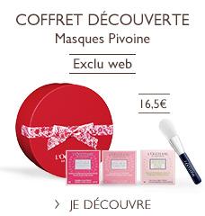Coffret Pivoine
