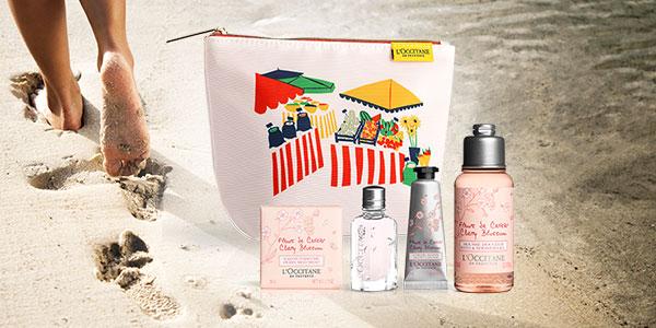 Cherry Blossom Travel Kit
