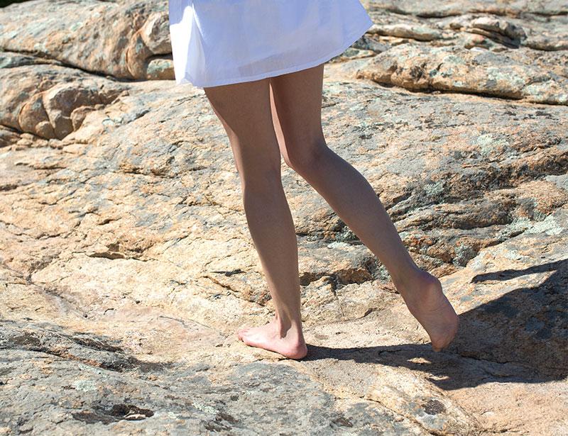 如何預防腳跟龜裂狀況?